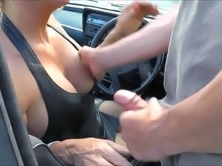 Big Tits Car Handjob Big Tits Big Tits Handjob Tits Job Car Tits Outdoor Leather