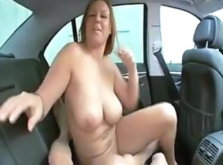 Car Mature Pov  Car Tits Pov Mature