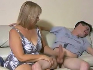 Amateur Handjob Mature Mom Old and Young Handjob Mature
