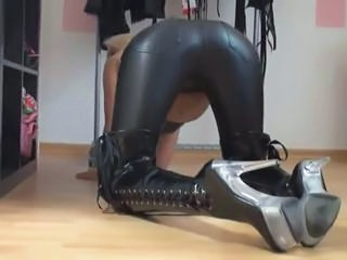 Ass Latex Legs Leather
