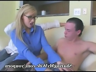 Bus Cuckold Glasses  Wife Glasses Busty Milf Ass Wife Milf Wife Ass Wife Busty