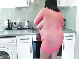 Fishnet Kitchen Mature Bbw Mature Fishnet Kitchen Mature Mature Bbw