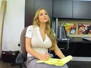 Amazing Big Tits  Secretary Milf Office Office Milf