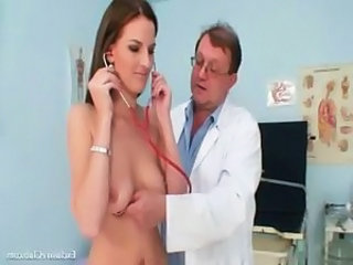 Doctor Smoking Teen Uniform Gyno Doctor Teen  Smoking Teen