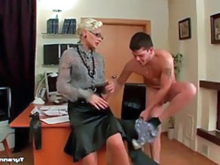 Femdom Glasses  Office Mistress Milf Ass Milf Office Office Milf