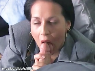 Blowjob Clothed  Secretary Blowjob Milf Milf Ass Milf Blowjob