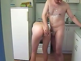 Amateur Ass Homemade Kitchen Kitchen Sex Amateur