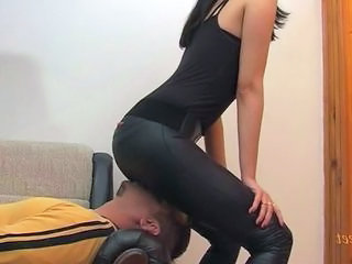 Facesitting Femdom Smothering Mother
