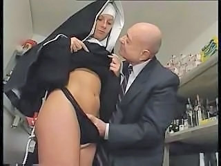 Nun Uniform Dirty