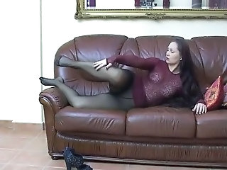 Feet Fetish Legs Pantyhose Footjob Foot Pantyhose Stockings Nylon