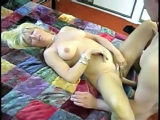 Blonde Chubby Mature  Alien Granny Anal