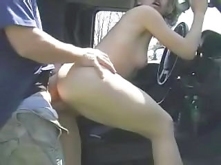 Car Creampie Doggystyle Outdoor Outdoor