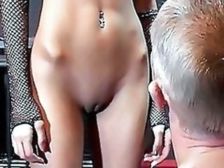 Piercing Pussy Shaved Torture Kinky