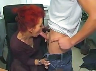 Blowjob Granny Office Redhead Blowjob Mature Mature Blowjob