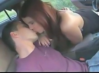 Car Kissing Redhead Teen Car Teen Kissing Teen Teen Redhead