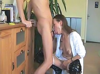 Deepthroat European German Mature Wife Gagging German Mature European German