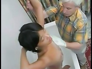Asian Daddy Old and Young Showers Teen Teen Ass Bathroom Teen Grandpa Bathroom Teen Bathroom