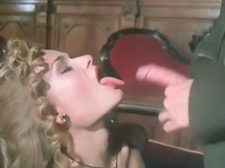 Cumshot European French  Swallow Vintage French Milf European French