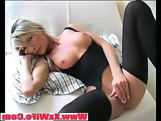 Amazing Masturbating  Stockings Wife Kinky Stockings Milf Stockings Wife Milf