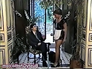Ebony Fetish Interracial Maid Kinky African