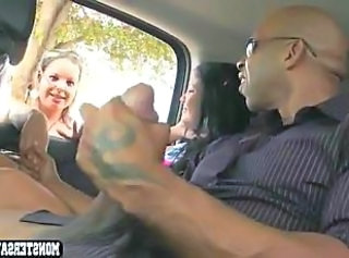 Car Interracial Public Interracial Big Cock Public