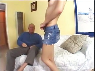 Brunette Cute Old and Young Cute Brunette Old And Young Older Man