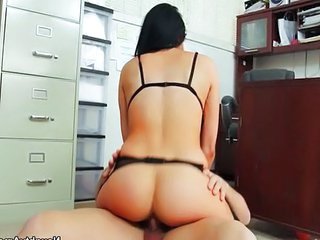 Ass Office Pornstar Riding Secretary Boss