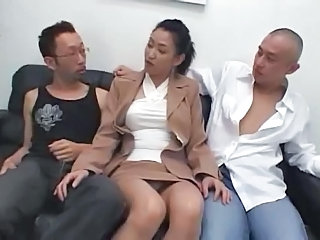 Asian Japanese  Threesome Japanese Milf Milf Asian Milf Threesome MMF Threesome Milf