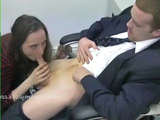 Blowjob European Secretary European