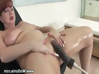 Machine Mature Oiled Solo Orgasm Mature