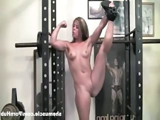Brunette Muscled Sport