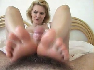Feet  Pov Footjob Foot