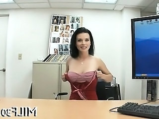 Amazing Casting Cute  Office Pov Stripper Milf Office Mother Office Milf