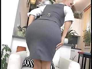 Ass Secretary Skirt