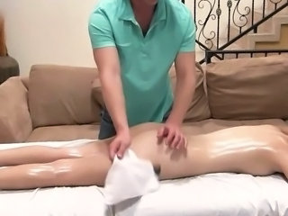 Massage Oiled Doggy Ass Massage Oiled Oiled Ass