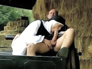 Blowjob Clothed Farm Nun Outdoor Uniform Vintage Blowjob Big Cock Car Blowjob Outdoor Farm Big Cock Blowjob