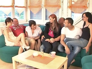 European German Groupsex Hardcore Orgy Orgy European German