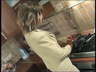 Kitchen Wife Wife Ass