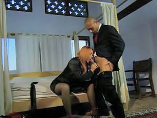Blowjob Clothed European Italian  Stockings Italian