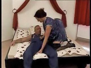 European German Mature Mom Old and Young Stockings German Housewife