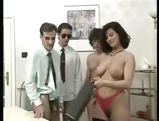 European Gangbang Office Vintage Boss