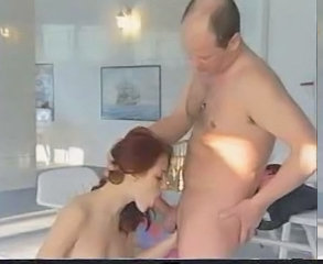 Babe Blowjob Daddy Old and Young Redhead Gym German