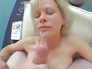 Cumshot Facial  Wife Son Married