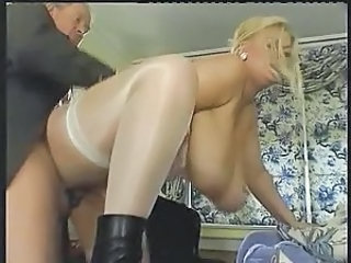 Big Tits Blonde Doggystyle Hardcore  Natural  Stockings Boobs