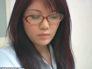Amazing Asian Glasses Japanese  Teacher