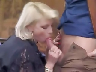 Blowjob Clothed European French  Vintage French