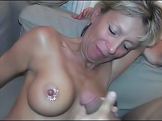 Amateur Cumshot European French  Nipples French