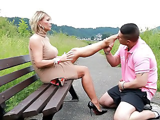 Feet Fetish Legs Public