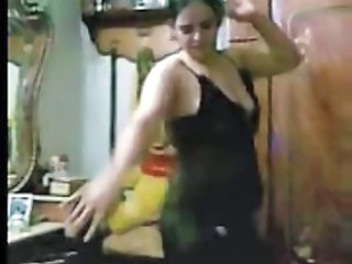 Amateur Arab Dancing Homemade Arab