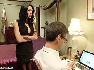 Amazing Brunette  Bdsm